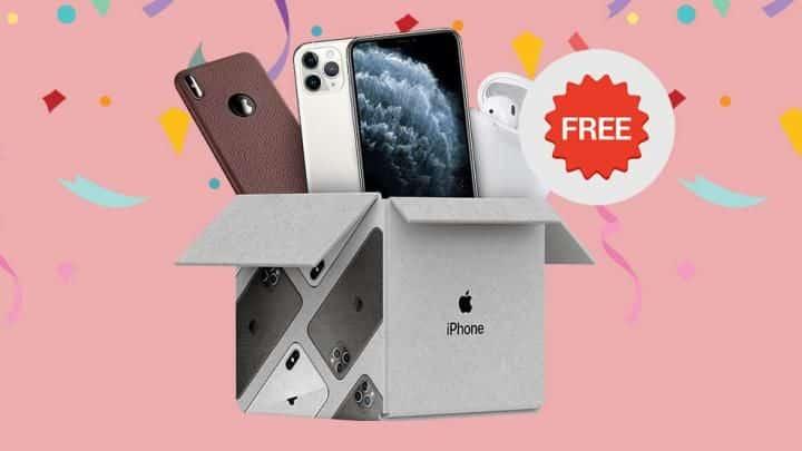 cara mendapatkan iphone gratis di shopee
