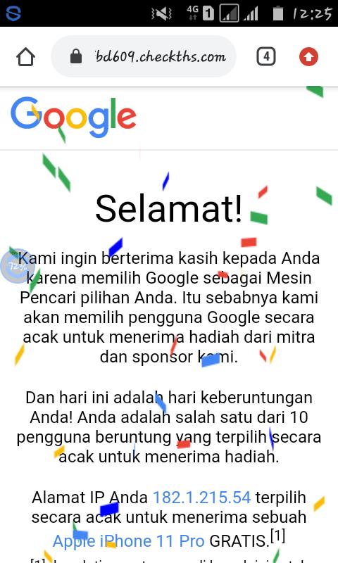 cara mendapatkan iphone 11 pro max gratis dari google