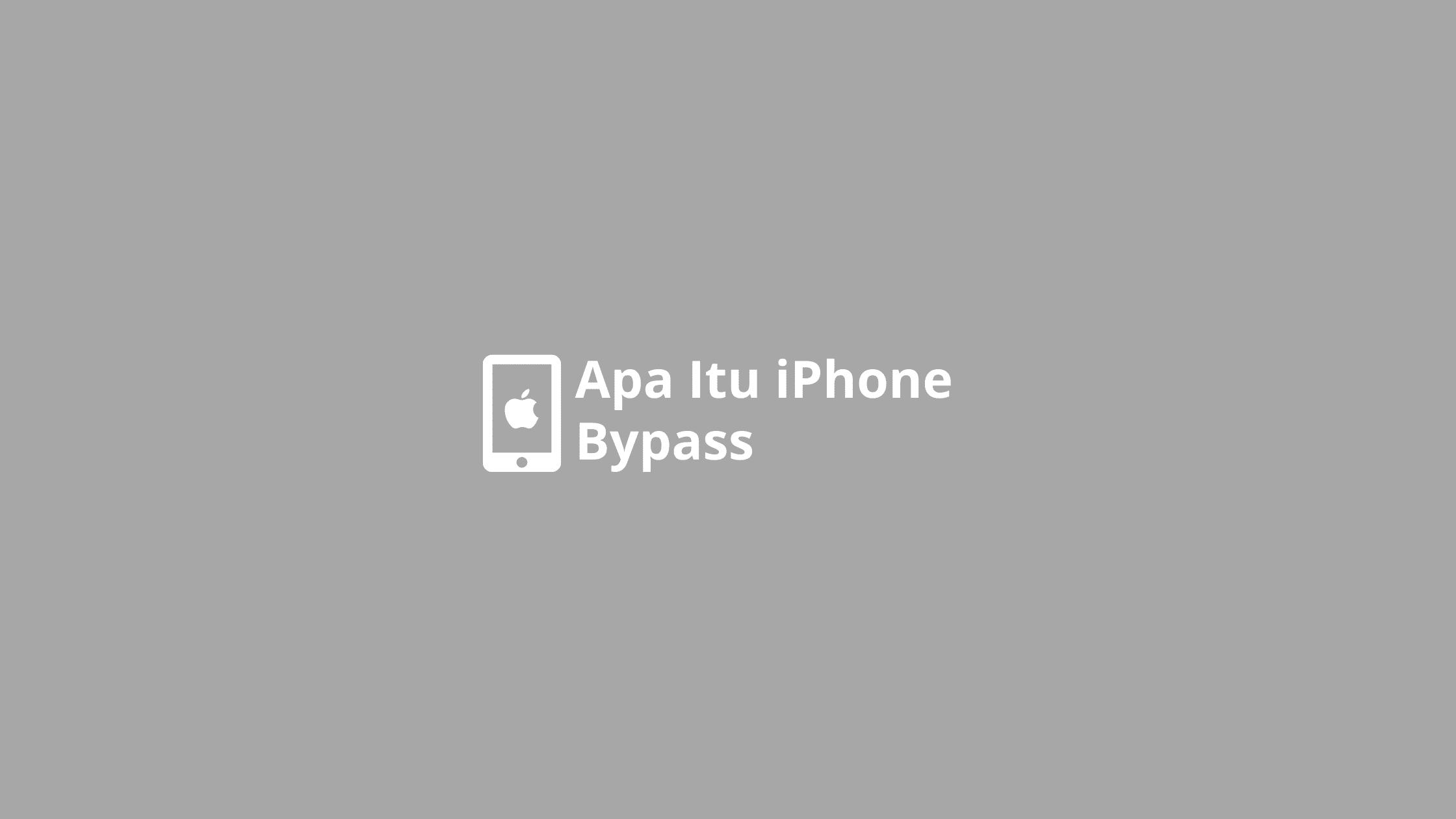 iphone bypass