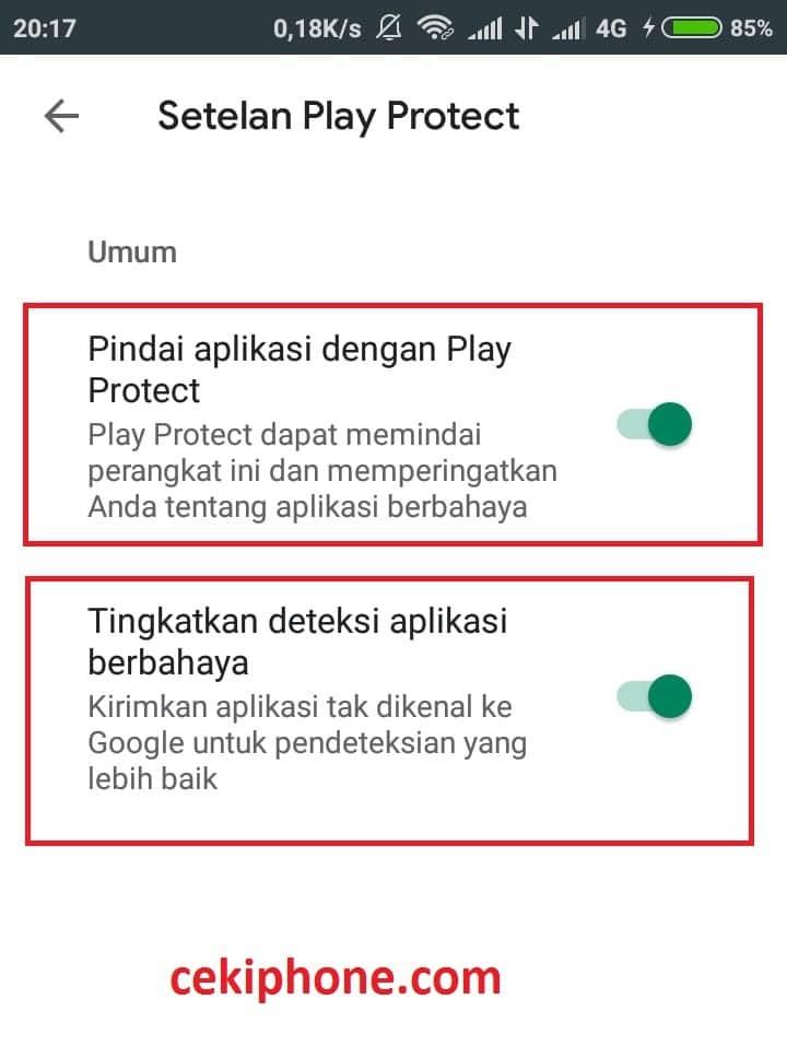 cara menghilangkan pop up iklan di android tanpa aplikasi
