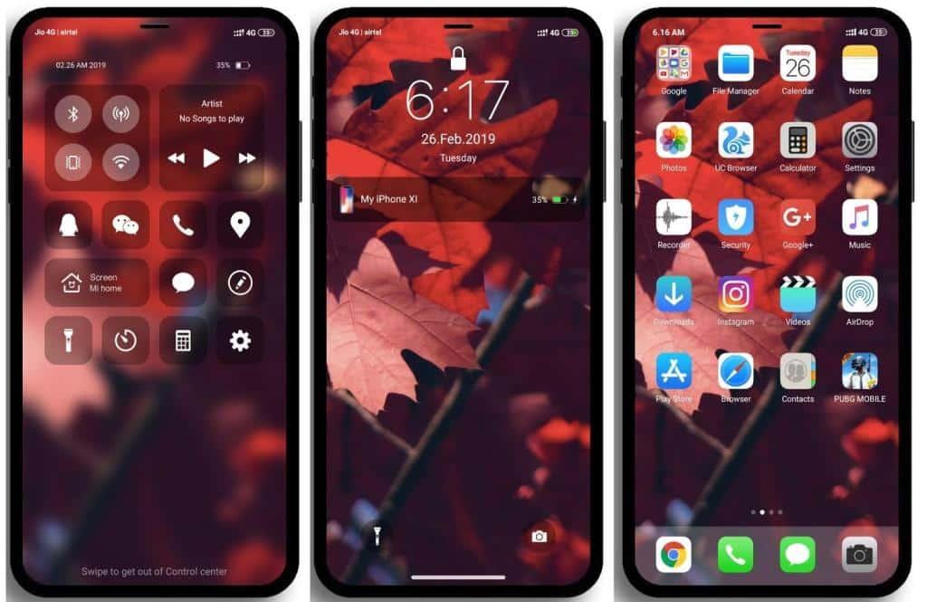 tema iphone untuk xiaomi redmi 4x
