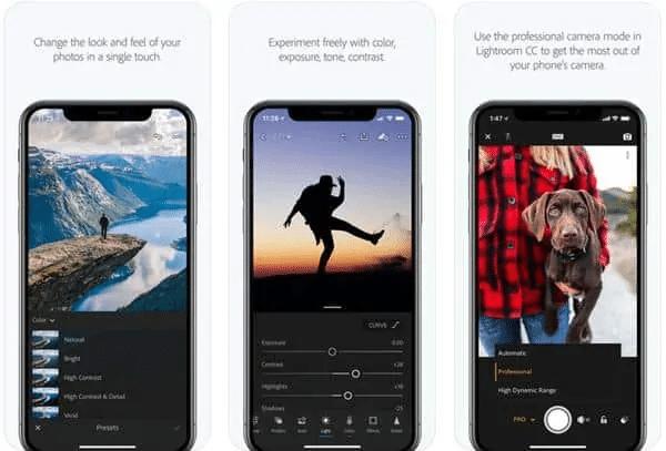 aplikasi edit foto bawaan iphone