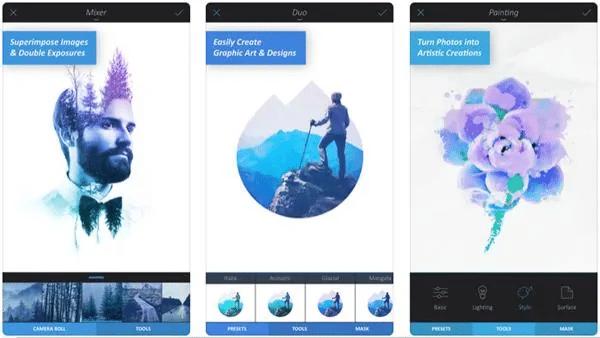 aplikasi edit foto iphone yang sering digunakan artis