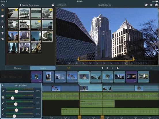 aplikasi edit video iphone dengan lagu