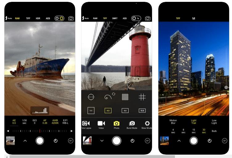 aplikasi kamera iphone 11