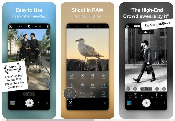 aplikasi kamera iphone gratis