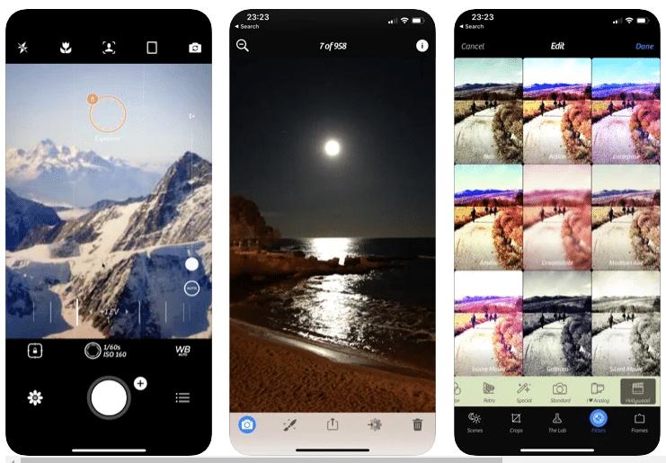 aplikasi kamera iphone yang ada love di kepala
