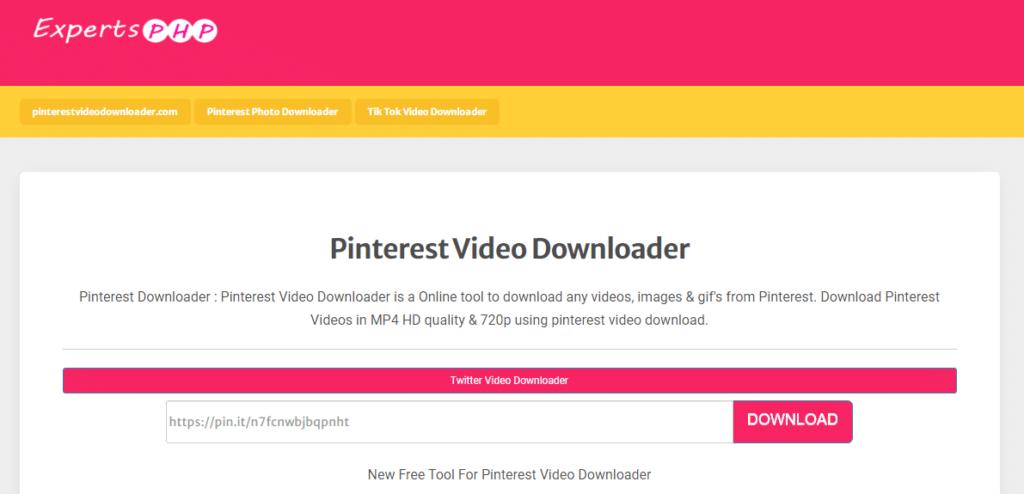 cara download video di pinterest android