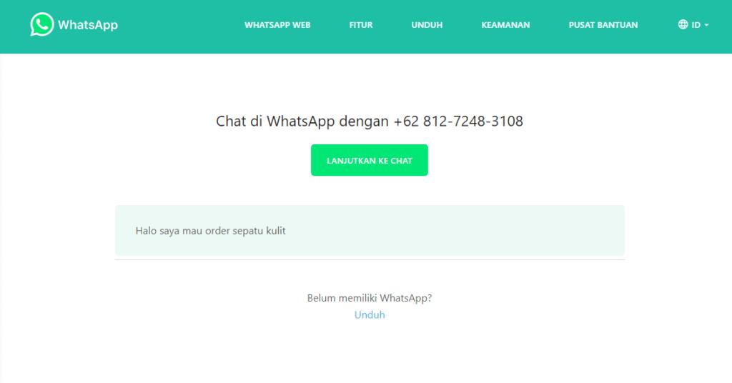 cara membuat linktree whatsapp di instagram