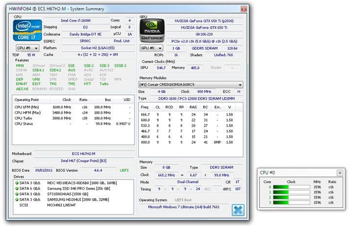 cara melihat spesifikasi laptop hp