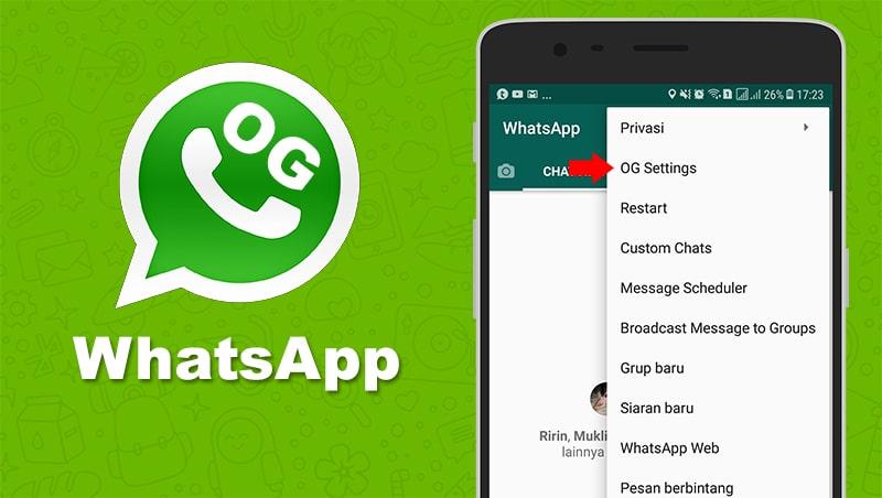 og whatsapp update