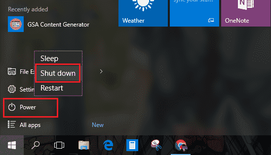 cara mematikan laptop dengan keyboard windows 8