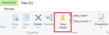 cara membuat folder baru di laptop windows 10